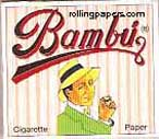 Bambu Regular 1 1/4 Rolling Paper Booklet - Click Image to Close