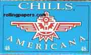 Chills Americana Single Wide Rolling Papers Booklet