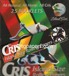 Cris Island Size King Hemp Box
