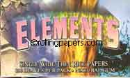 Elements Single Wide Rolling Papers Booklet