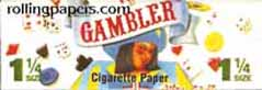 Gambler 1 1/4 Rolling Papers Booklet