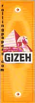 Gizeh Yellow Rolling Papers Booklet - Click Image to Close