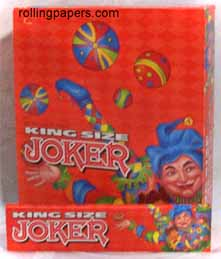 Joker Orange King size Rolling Paper box