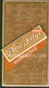Pure Hemp Unbleached 1 1/4 box