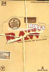 Raw Organic King Rolls Box