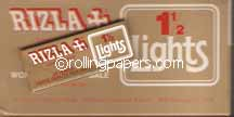 Rizla One & A Half VIntage Gold Rolling Papers Box