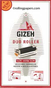 Gizeh Duo Roller Box 10 Individually Packaged Rollers
