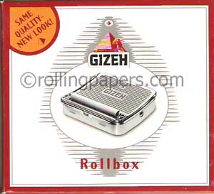 Gizeh Rollbox For 68-70mm Rolling Papers (Singlewides)