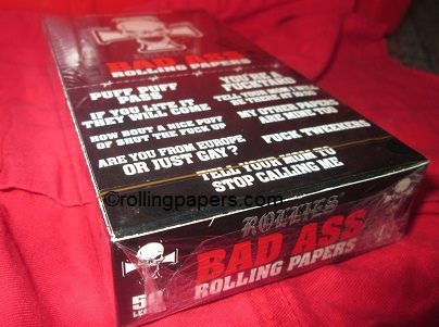 Bad Ass 1 1/4 size Rolling Papers Box