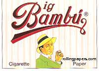Big Bambu 95mm 32 Leaf Booklet Rolling Papers