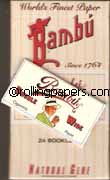 Bambu Double Wide Wholesale Box 24 Books Rolling Papers