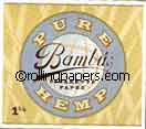 Bambu 100% Hemp 1 1/4 77mm 33 Leaf Booklet Rolling Papers