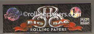 BIG BAG Booklet, Hemp Rolling Papers