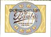 Big Bambu Hemp 33 Leaf Booklet 65mm by 95mm Rolling Papers