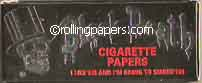 Black Death 5 Booklet Packet 250 Papers Total Rolling Papers