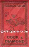 Cock & Diamond Rolling Papers Booklet 20 Sheets 1 1/4