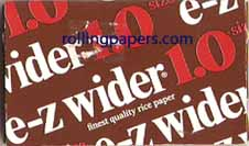 E-Z Wider Single Wide Rolling Papers 64 Leaf Book