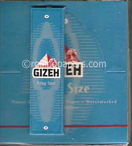Gizeh Kingsize Ultra Thin Rolling Papers Box