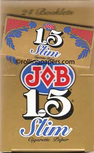 JOB Gold 1.5 Slim Box of 24 Booklets