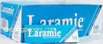Laramie Blue Thins Box Singlewides Rolling Papers