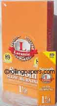 Laramie Smooth Slow Burning Box Rolling Papers