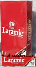 Laramie Red 1 1/4 Box Rolling Papers
