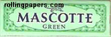 Mascotte Green Cut Corners 50 Leaf Booklet Rolling Papers