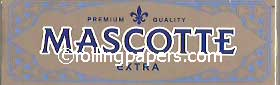 "Mascotte SILVER ""Extra"" Booklet 50 Leaves Rolling Paper"
