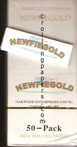 Newfiegold Singlewide Display Box 50 Booklets Great Price!