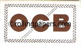 OCB No. 4 White Vintage Booklet French Rolling Paper 100 Leaves