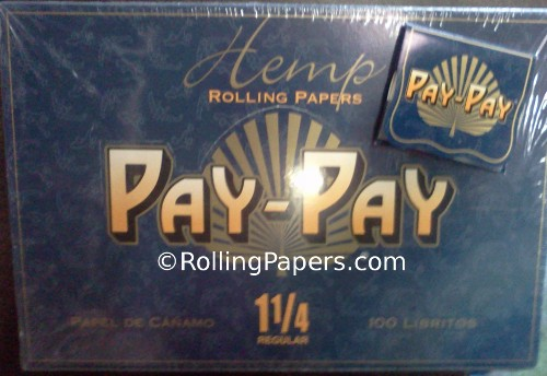 Pay-Pay 1 1/4 Square Booklet 100ct Box