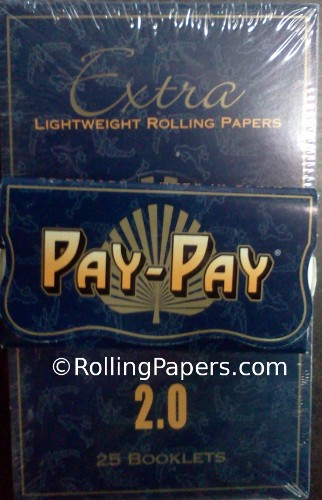 Pay-Pay Display Box Double Wide Rolling Paper