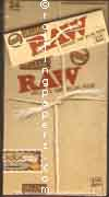 RAW Organic 1 1/4 Display Box 24 Booklets NEW Rolling Papers