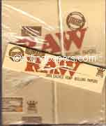 RAW Organic King Size Slim Box 50 Booklets NEW Rolling Papers