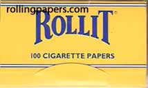 Rollit  Paper 100 Leaf  Booklet Rolling Papers