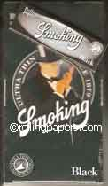 Smoking Black Slow Burning 25 Pack Wholesale Box Rolling Papers