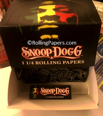 Snoop Dogg 11/4 Rolling Papers booklet
