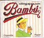 Bambu 1 1/4  78mm Squares Booklet Rolling Papers