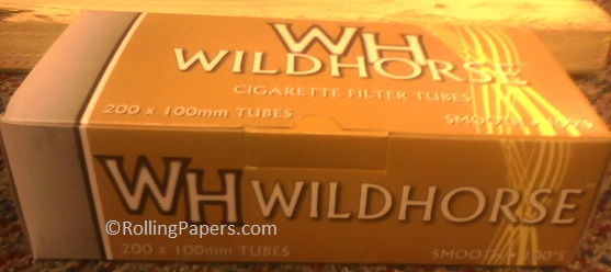 Wild Horse Gold Smooth 100 mm tubes