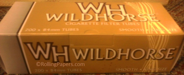 Wildhorse Smooth Gold King size tubes